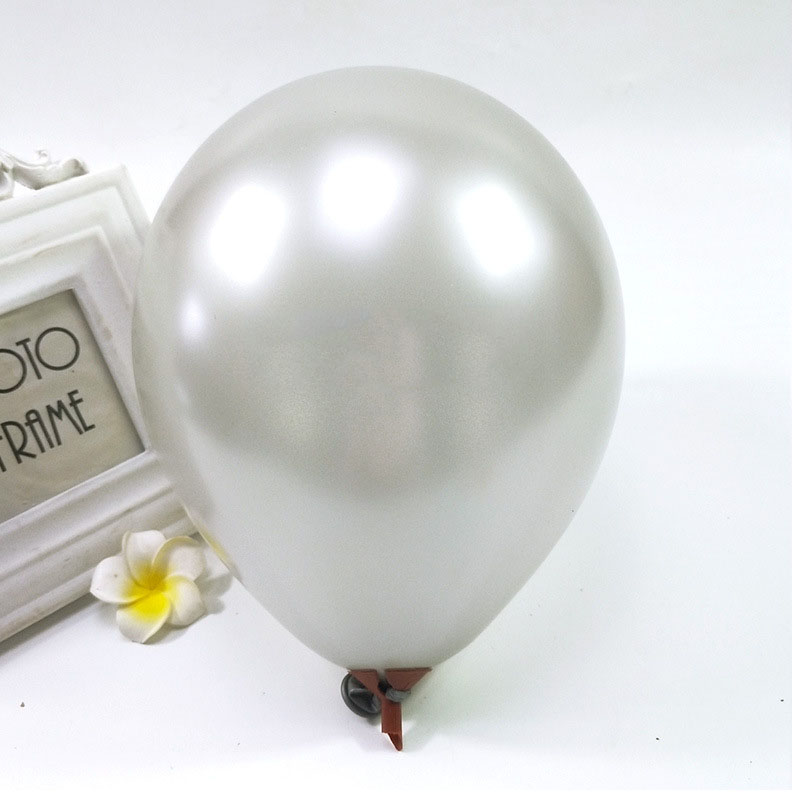 Pearlescent Colored Balloons for Parties