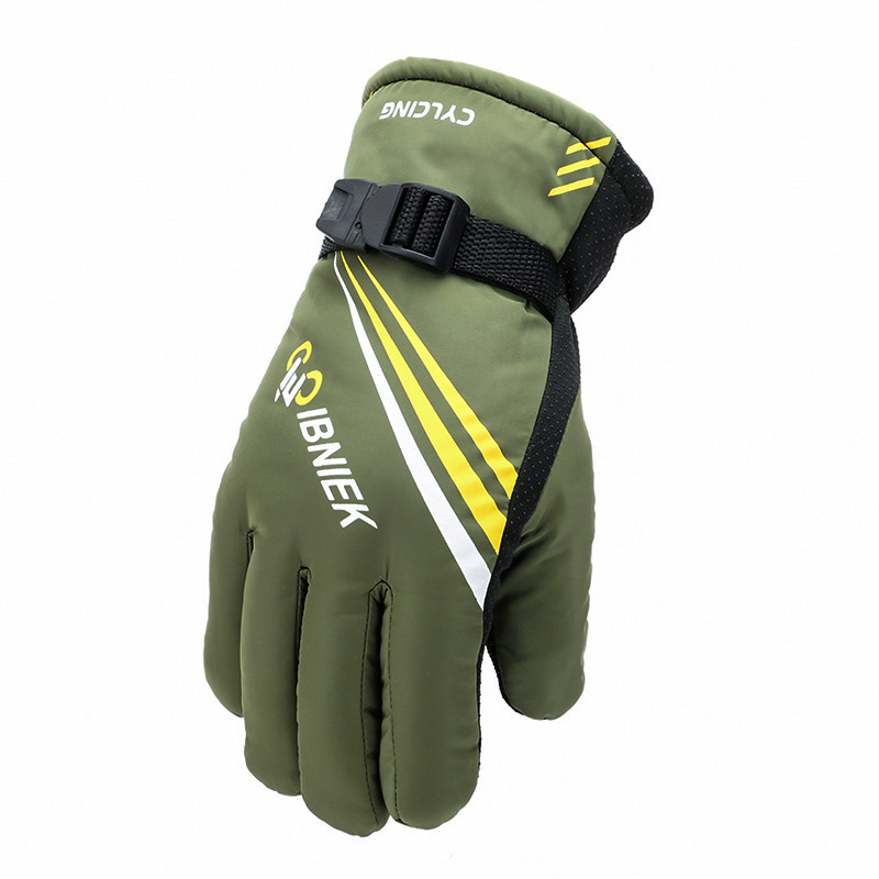 Thick Windproof Gloves for Skiing and Motorcycle Riding