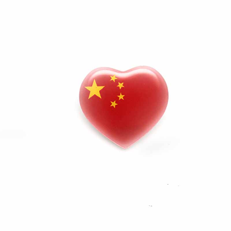 China Flag Classic Pin for Bags