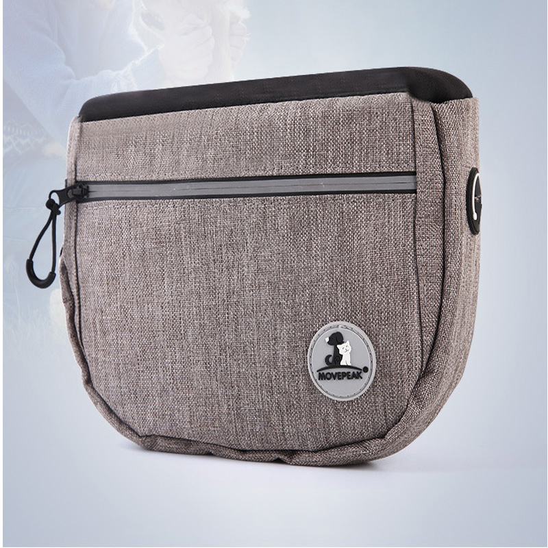 Adjustable Oxford Cloth Waist Bags for Pet Walks and Jogging