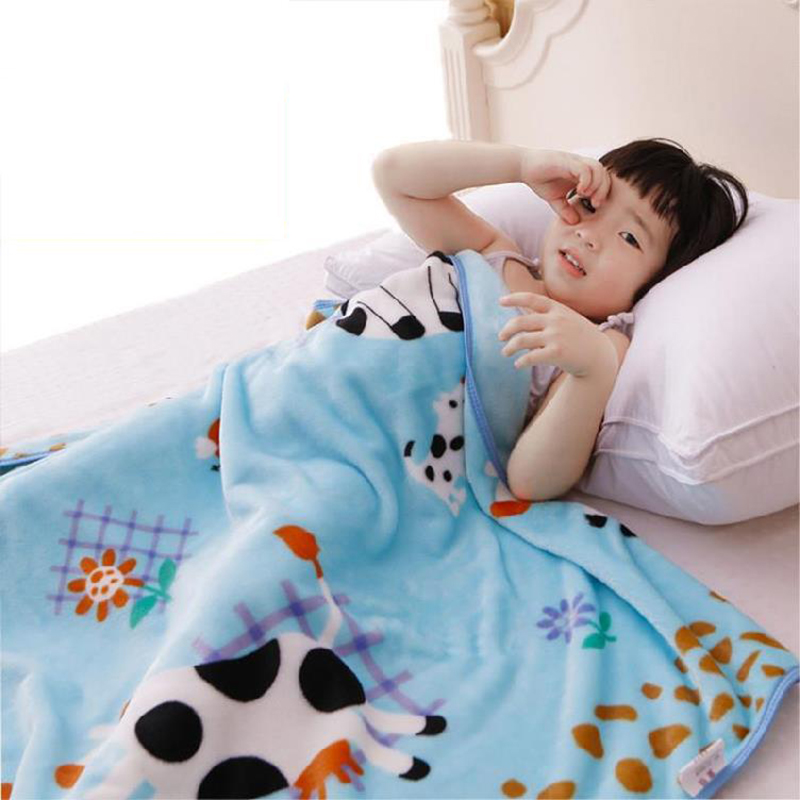 Super-Cute Thick Plush Blankets for Kids