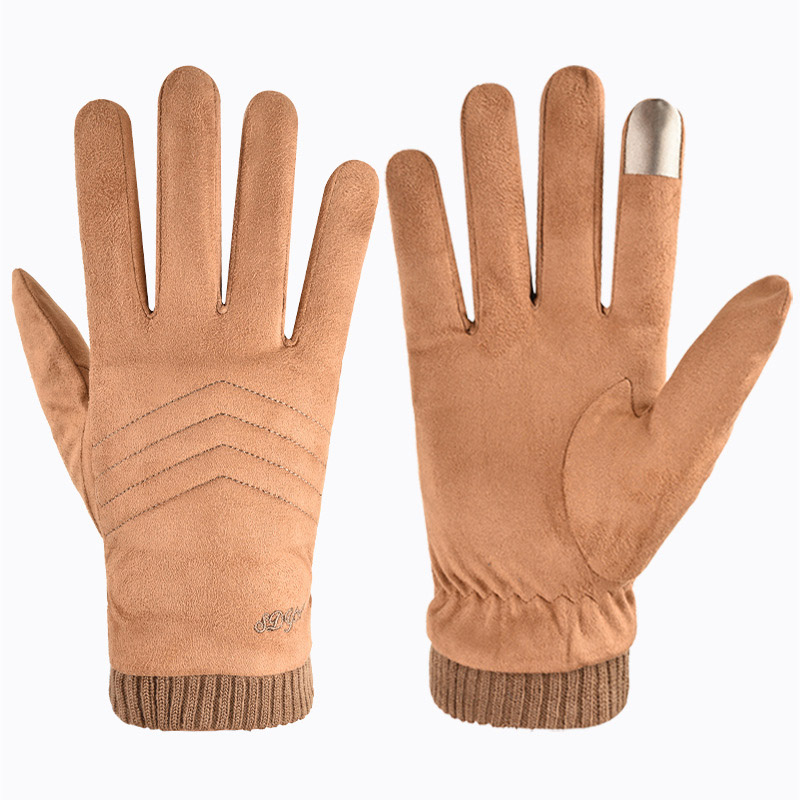 Thick Touch Screen Gloves for Fashionable Men