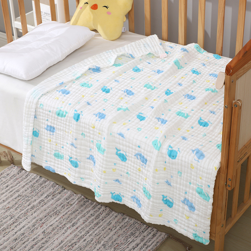 Breathable Baby's Blanket for Cribs