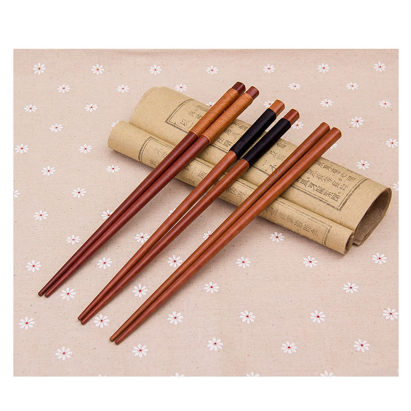 Anti-slip Wooden Chopsticks for Hearty Asian Meal