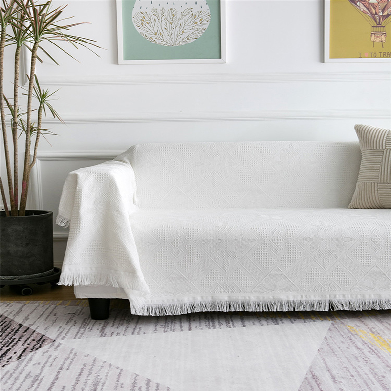Lightweight Cool Sofa Blanket for Morning Coffee Time