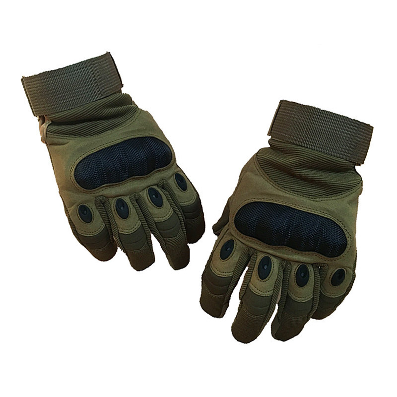Military Themed Protective Gloves for Motorcycle Riding