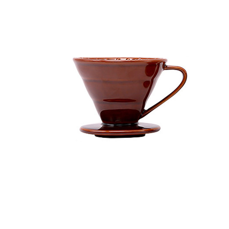 Conical Ceramic Coffee Filter Funnel for Easier Coffee Brewing