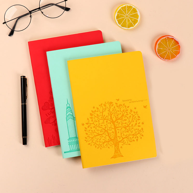 Spring Notebook for School and Office