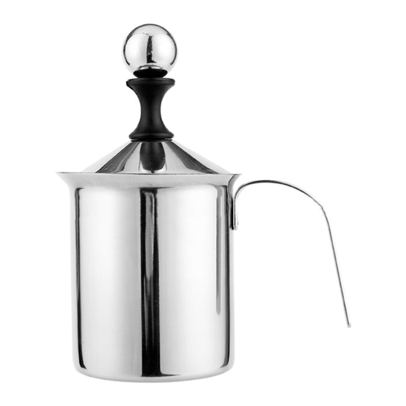 Classy Stainless Steel Milk Frother for Brewed Coffee