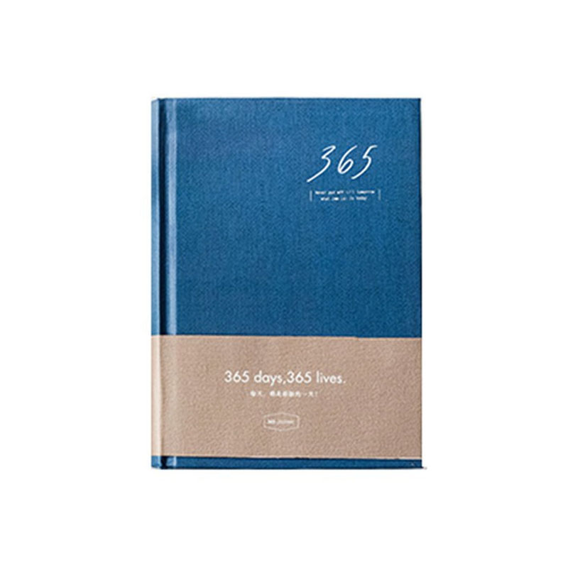 Hard Bound 365-Days Journal or Personal Note-Taking