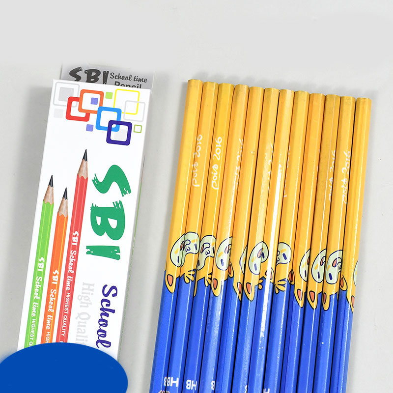 Solid Wood Writing Pencil for Student