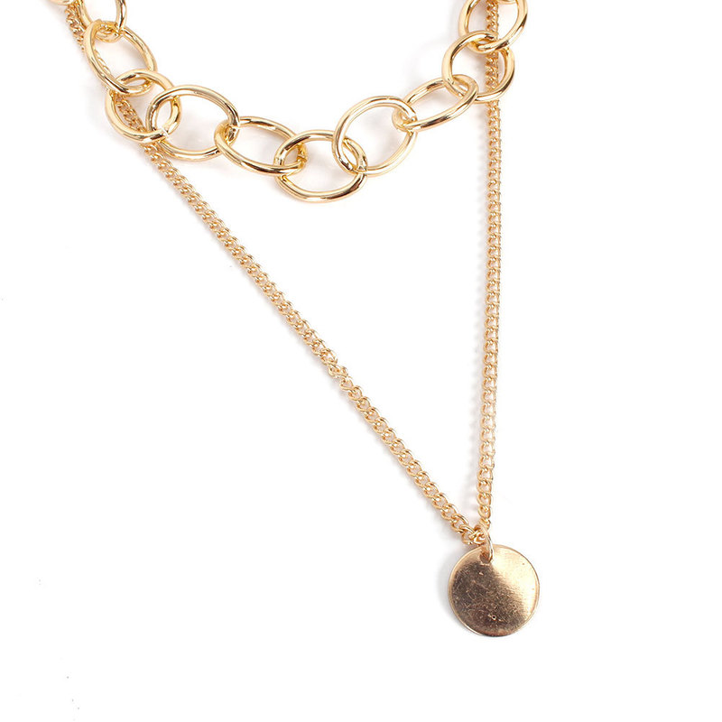 Gorgeous Golden Chains Necklace for Classy Outfits