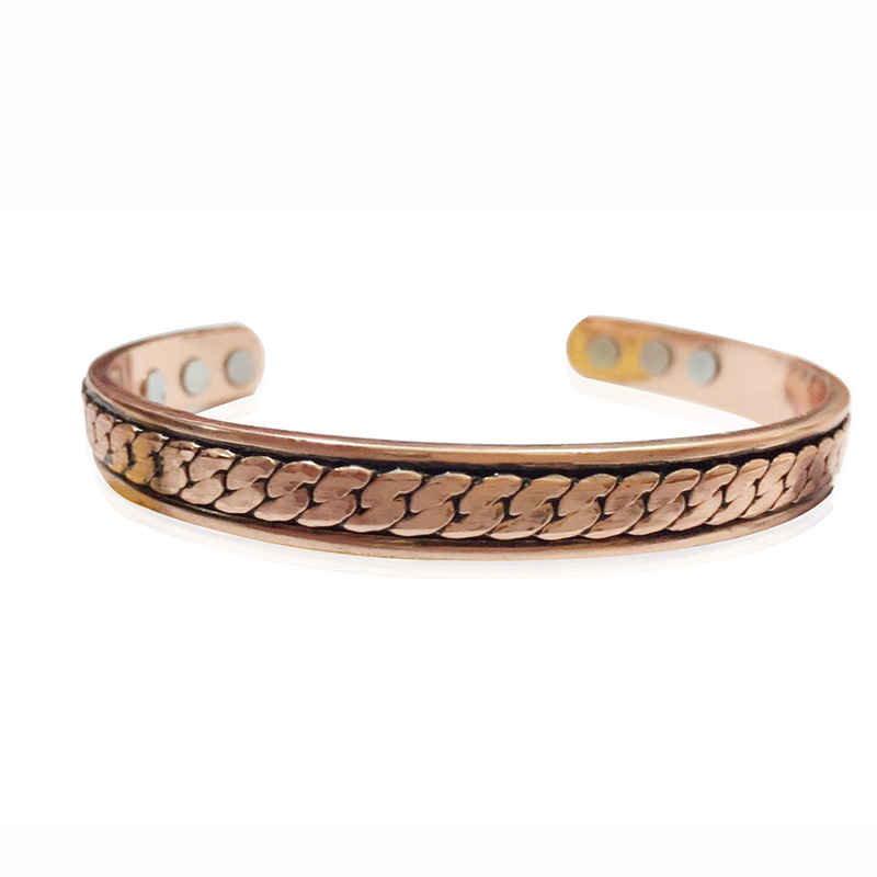Thin Copper Bangle Bracelet for Easy-Wear Accessories