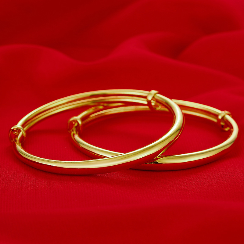 Minimalist Gold-Plated Adjustable Bracelet for Any Occasion
