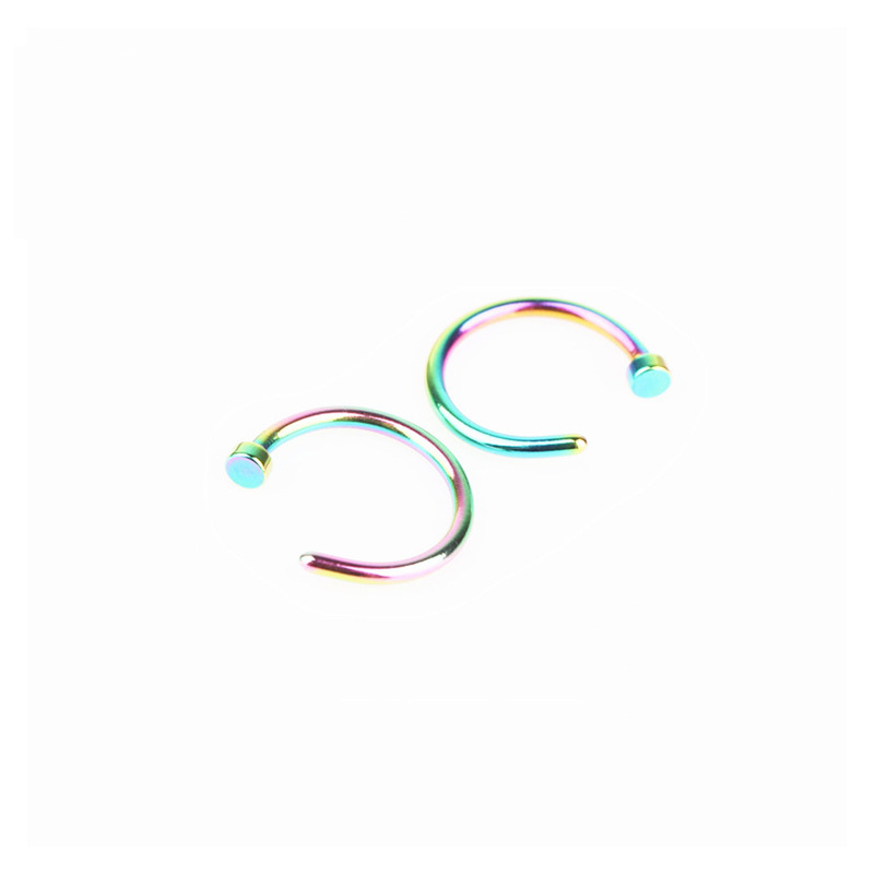 Fashionable C-Bar Stainless Steel Body Piercing for Daily Use