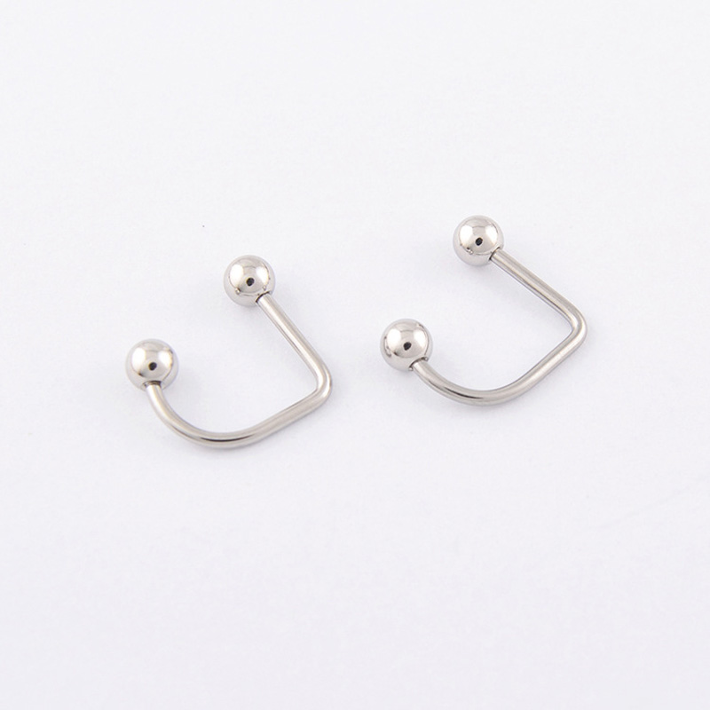 Hottest Style Titanium Steel Lip Ring Piercing for Club Parties