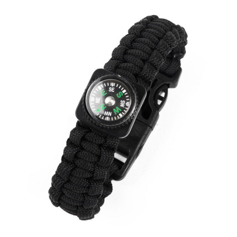 Tactical Compass Rope Bracelet for Outdoor Activities