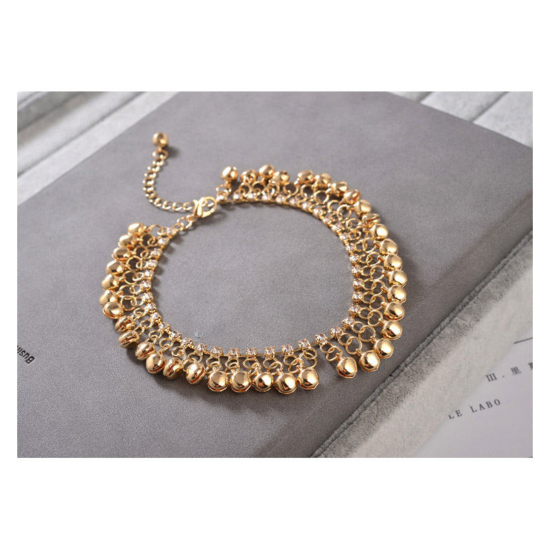 Kymbala Bell Anklet for Cropped Jeans
