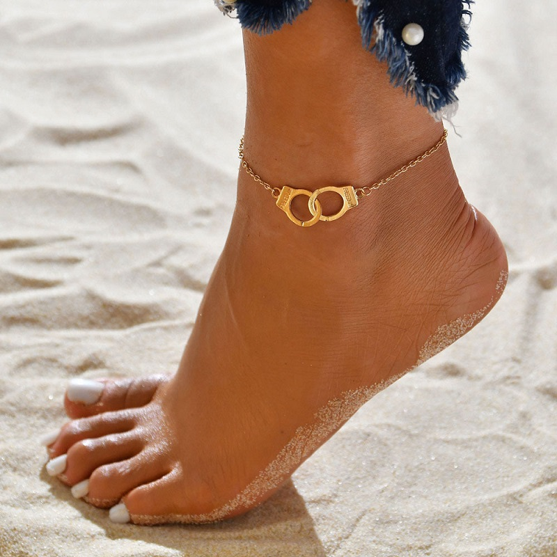 Dreamy Cuff Pendant Anklet for Beach Accessories