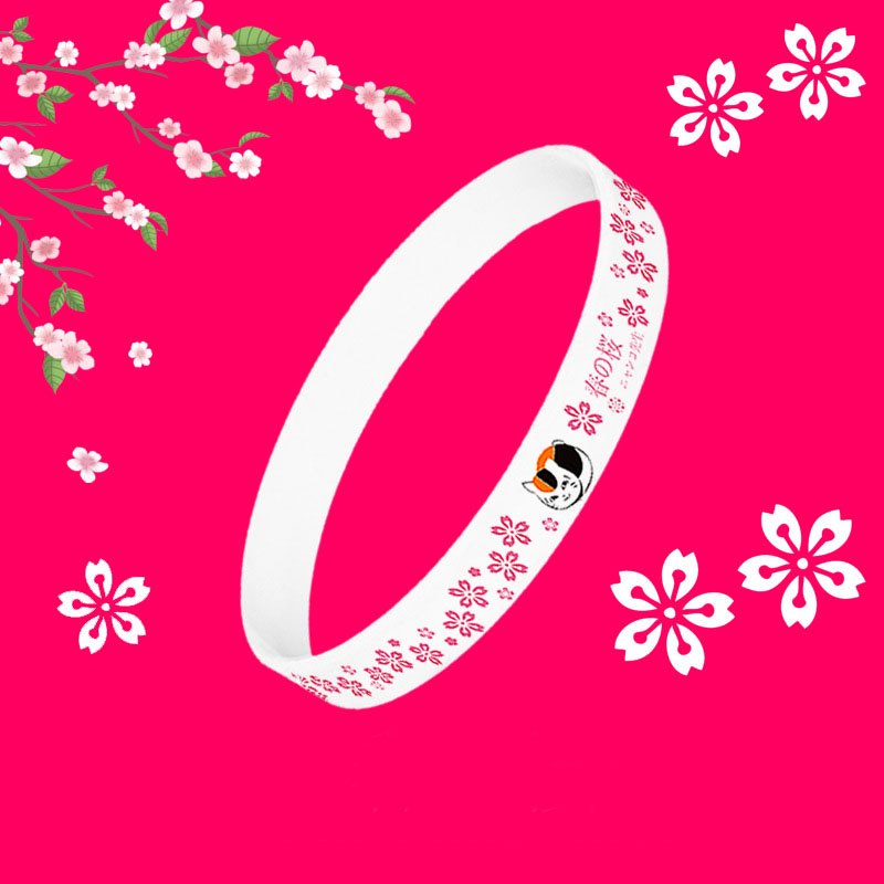 Cute Cartoon Silicone Bracelet for Casual Wear