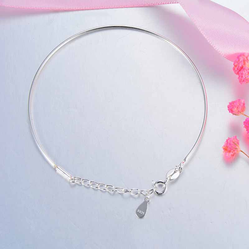 Gorgeous Sterling Silver Detachable Bracelet for Special Someone