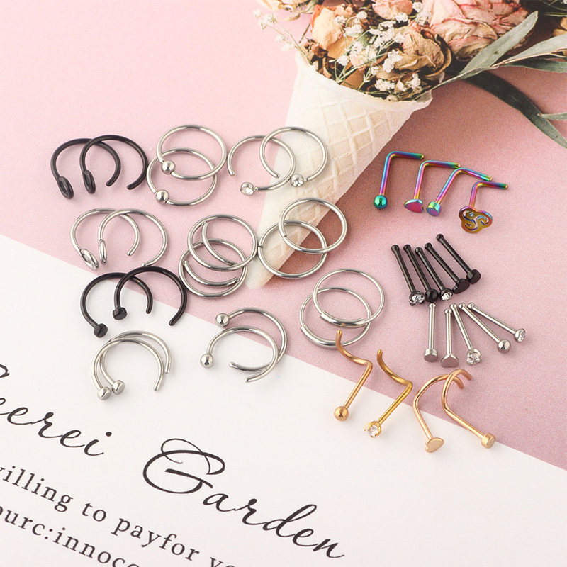 Stainless Steel Piercing Set for All Occasions