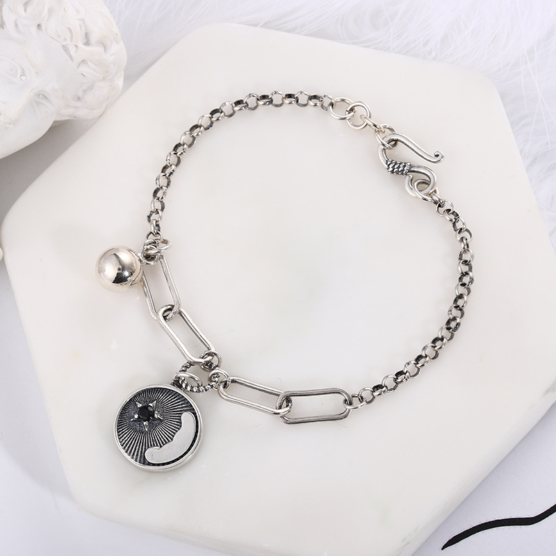 Trendy Star Cable Chain Bracelet for Casual Fashion