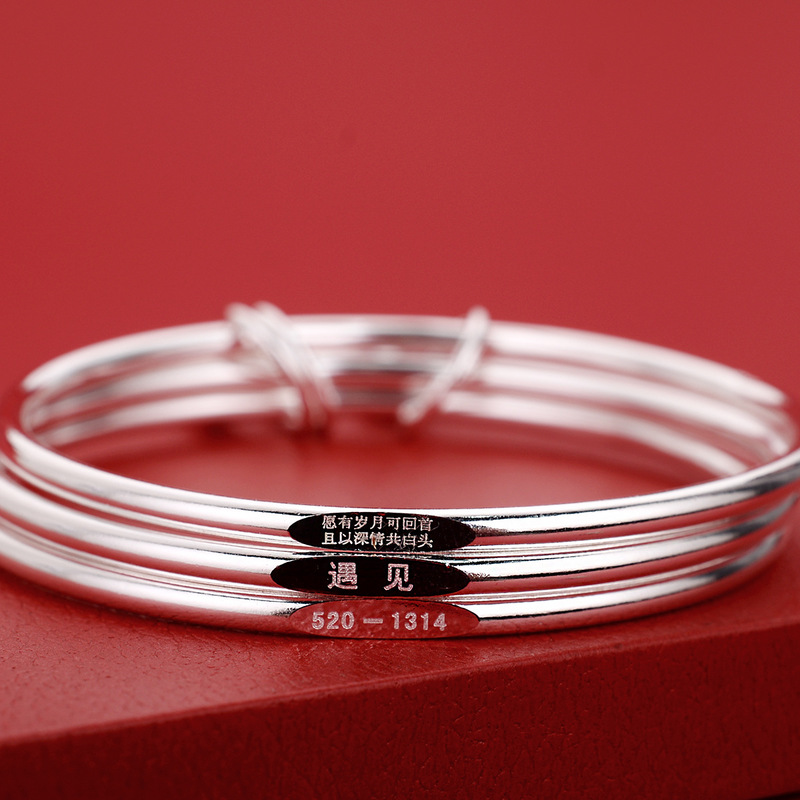 Three-Later High-Gloss Bracelet for Any Style