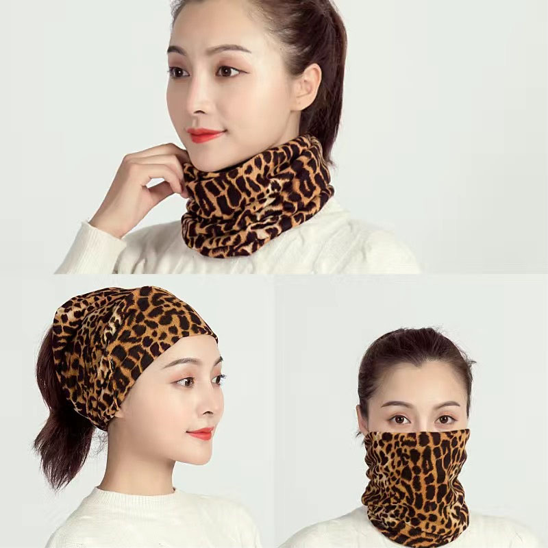 3 in 1 Polyester and Cotton Neck Gaiter for Convenient Fashion