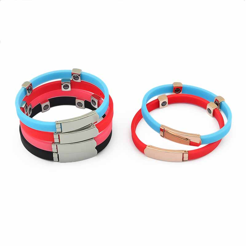 Sports Silicone Bracelet for Casual Wear