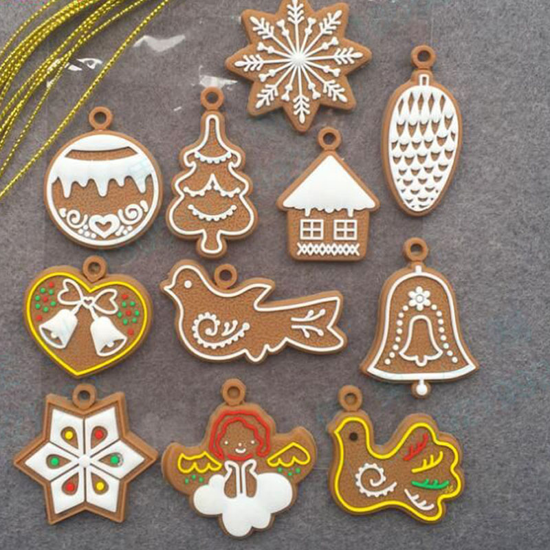 Amusing Gingerbread Man Christmas Tree Ornaments for Decoration