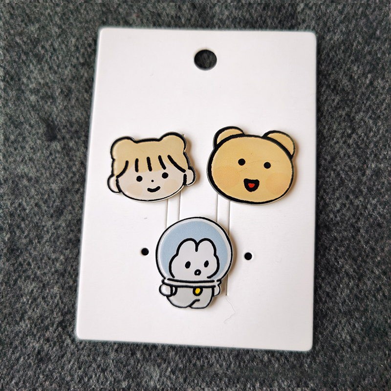 Adorable Assorted Acrylic Pins for Clothes