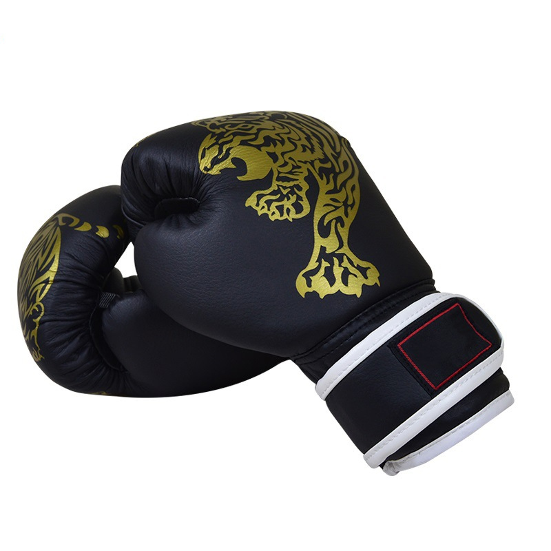 Black and Red Boxing Glove for Fist Protection