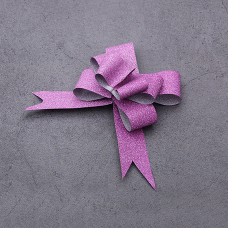 Glittery Easy Pull Bows for Gifts