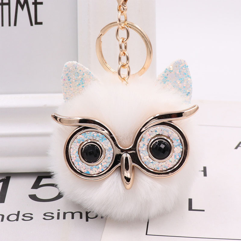 Cute Owl Designed Keychain for Gift