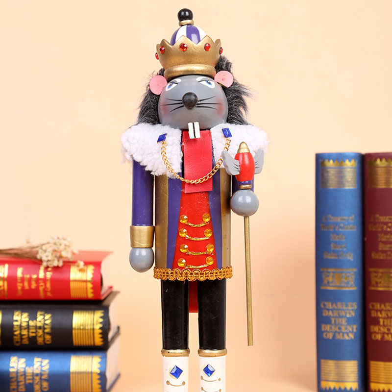 Honorable Wooden Rat King for Decor