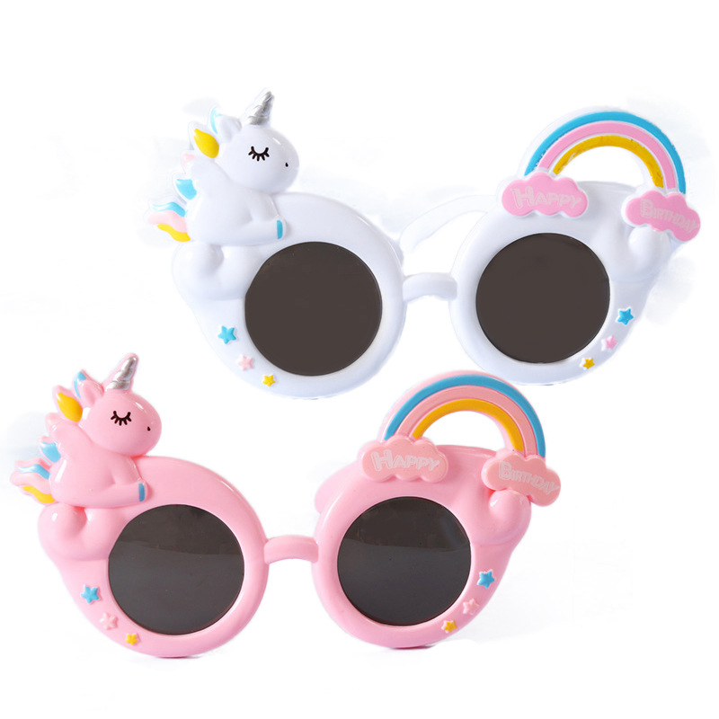 Decorative Unicorn Sunglasses for Children