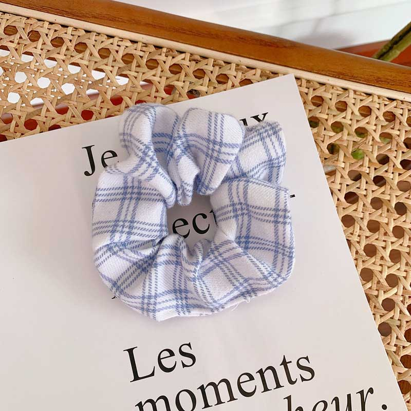 Popular Plaid Scrunchies for Classic Hair Styling