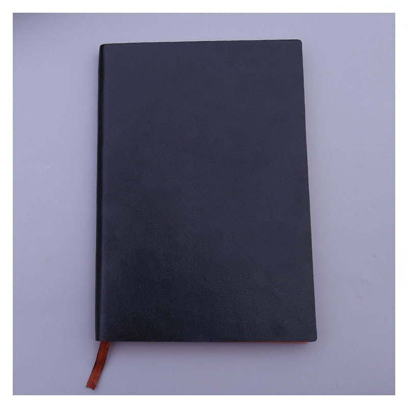 Grainy Synthetic Leather Notebook for Exquisite Office Notes