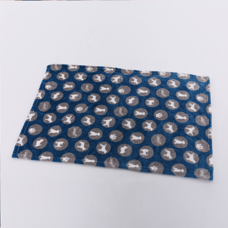 Cute Puppy Print Designed Blanket for Kids