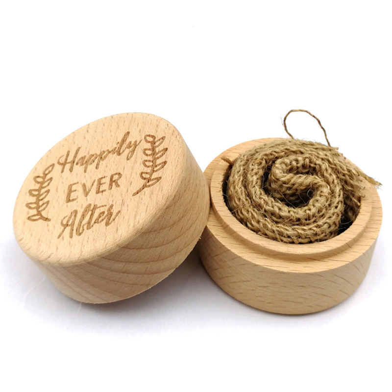 Rustic Engagement/Wedding Ring Box for Couples