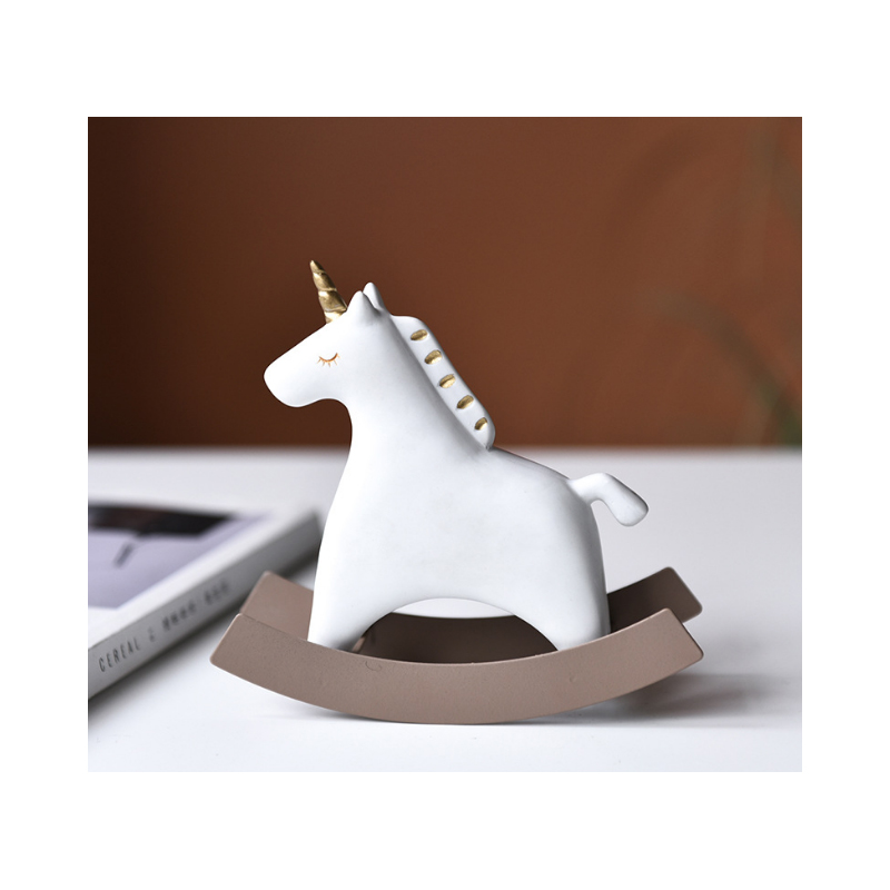 Rocking Horse Desk Fidget Tool for Relieving Stress