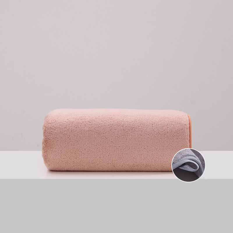 Thickened Coral Fleece Bath Towel for Sensitive Skin