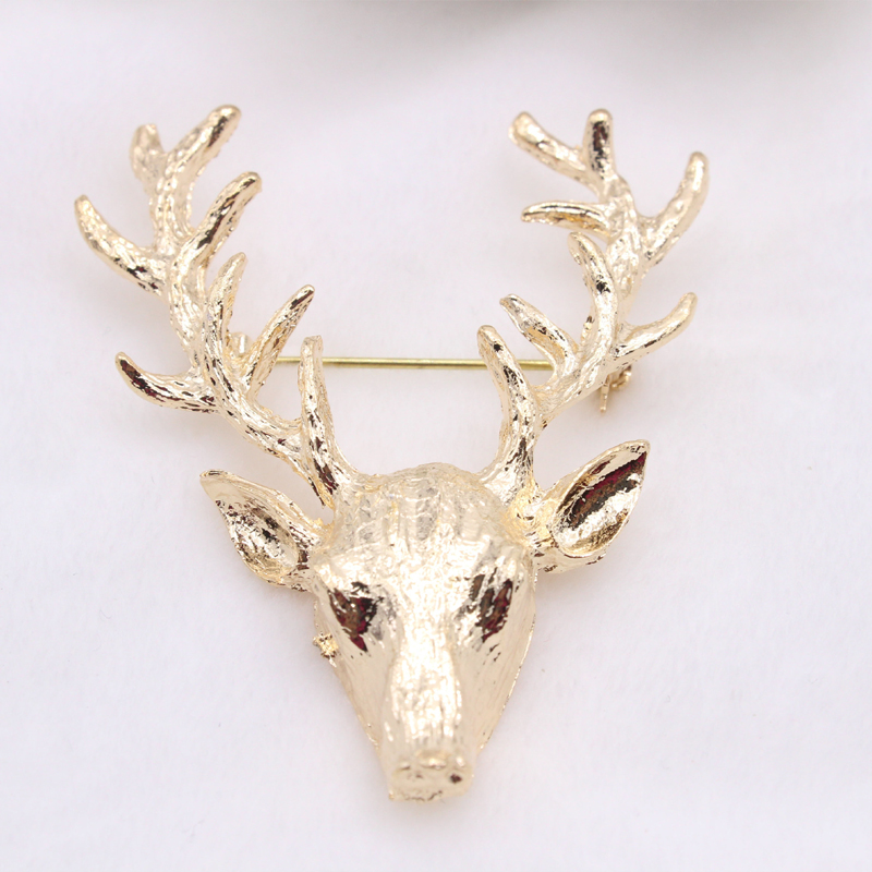 Vintage Fawn Brooch for Men and Women