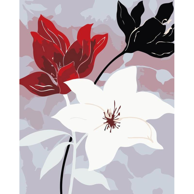 Mesmerizing Floral Painting for Decorating Walls