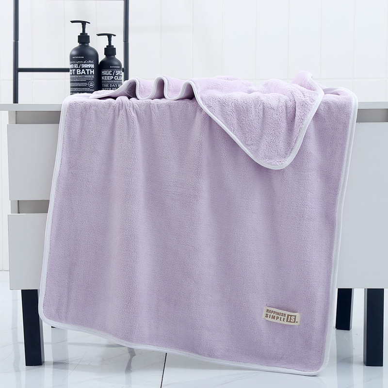 White Edge Trim Simple Towels for Simple Homes