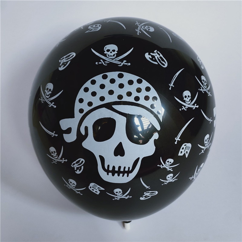 Thick Latex Skull Balloon for Halloween Parties