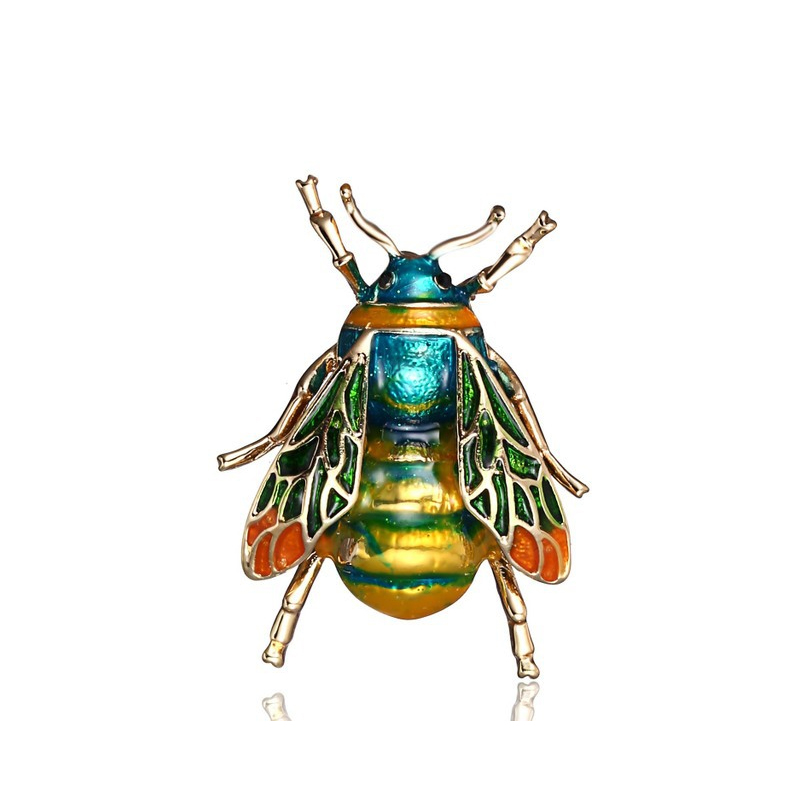 Vintage Bee Brooch for Men and Women
