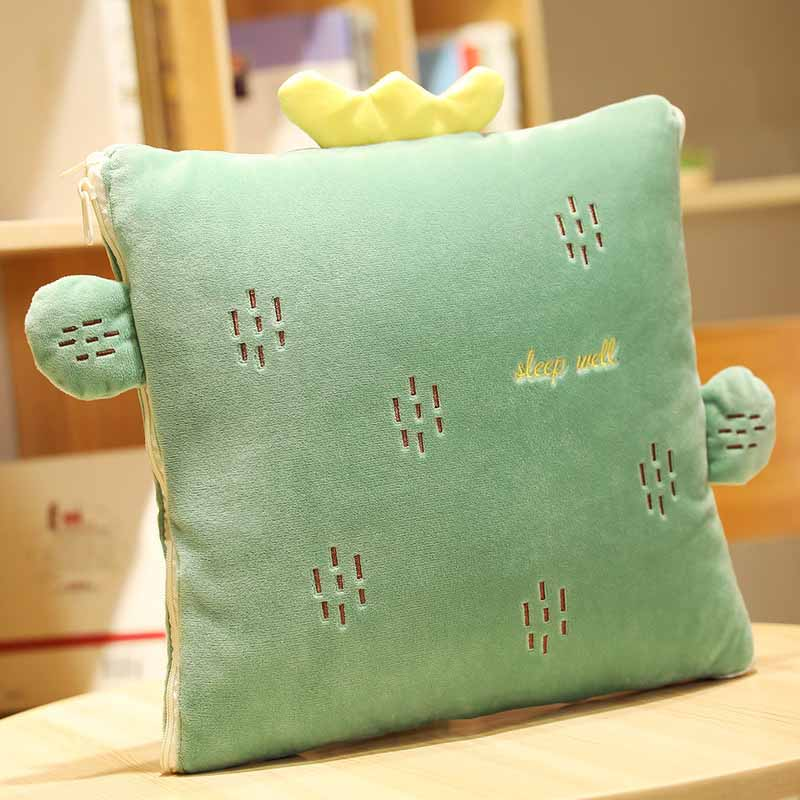 Cute Character Pillow and Quilt for Friendship Night Outs