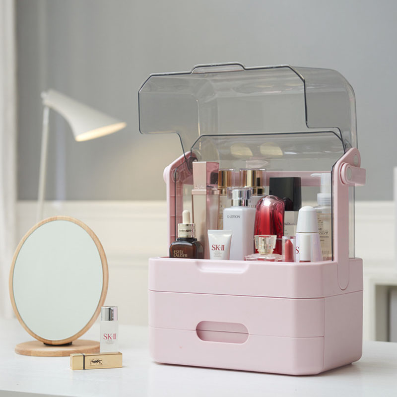 Simple Cosmetics Drawer for Skincare and Makeup Supplies